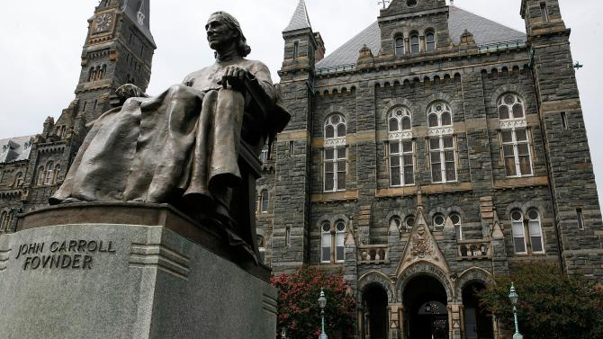 In 1838 in order to save their badly-mismanaged institution, Georgetown University leaders, Jesuit priests, sold 272 African Americans