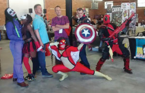 Comic book enthusiasts experienced their first min-con in Greensboro at ArtSpace