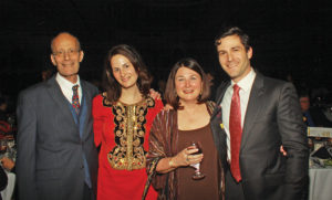 Bob Cone, Laurie Cone (daughter), Sally Cone and Sam Cone (son).   Photo by Charles Edgerton/ Carolina Peacemaker