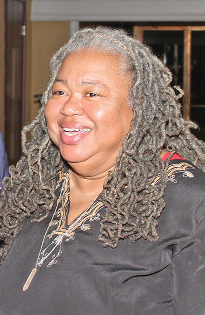 T. Dianne Bellamy-Small ran unopposed for School Board (District 1). Photo by Charles Edgerton/Carolina Peacemaker