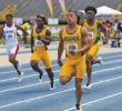 A&T men sweep the 100m. Photo by Joe Daniels/Carolina Peacemaker
