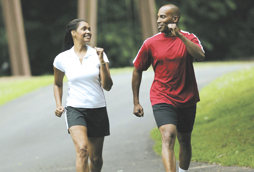 As one ages, maintaining good health in midlife has definite benefits.