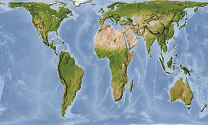 Boston Public Schools follow the lead of the United Nations by switching to the Gall-Peters projection maps which provide a more accurate view of the world.