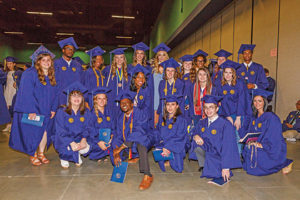 Members of the University of North Carolina at Greensboro Class of 2017. Photos courtesy UNC Greensboro