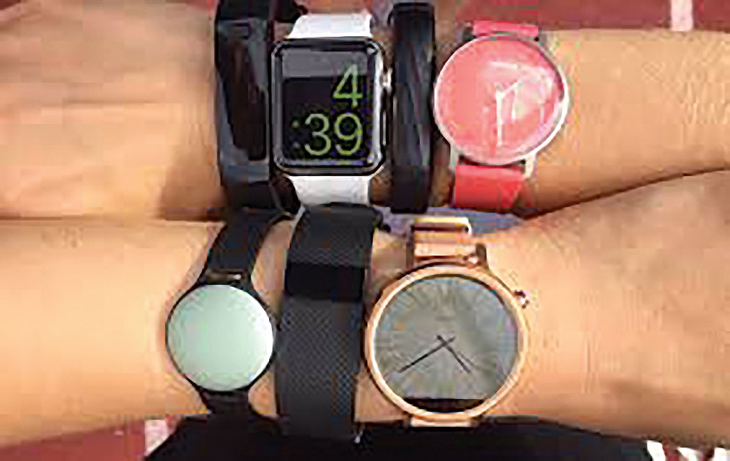 Fitness trackers can help track one's health and some have become fashion statements.